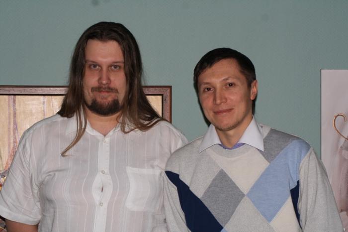 На фото: Я - Goodwin и Андрей - kc-duke
