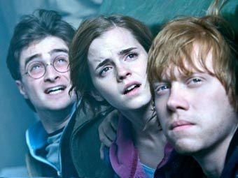 """Кадр из второй части фильма """"Гарри Поттер и Дары смерти"""""""