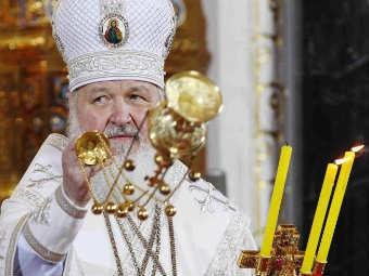 Патриарх Кирилл с кадилом. Фото ©РИА Новости, Илья Питалев