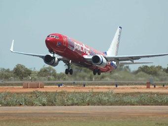 Boeing-737 авиакомпании Pacific Blue. Фото с сайта outbackaviation.com.au