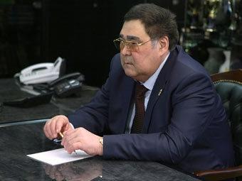 Аман Тулеев. Фото с сайта premier.gov.ru