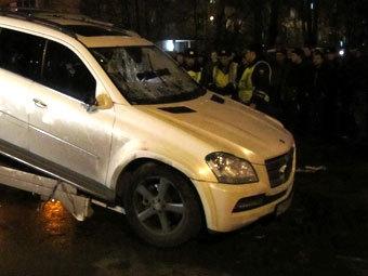 На месте ДТП в Бирюлево. Фото РИА Новости, Денис Воронин