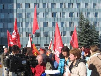 Сторонники КПРФ в Перми. Фото с сайта партии