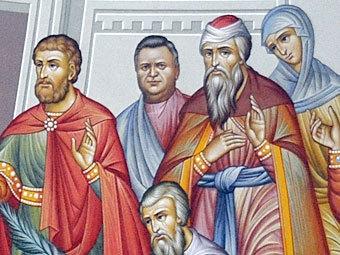 Лик Сергея Кулагина (в центре). Изображение с сайта time.kz