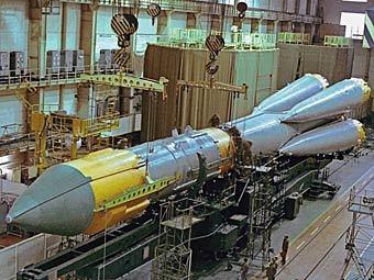 Монтажно-испытательный корпус плесецкого космодрома. Фото РИА Новости