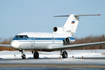 Як-40. Фото Reuters
